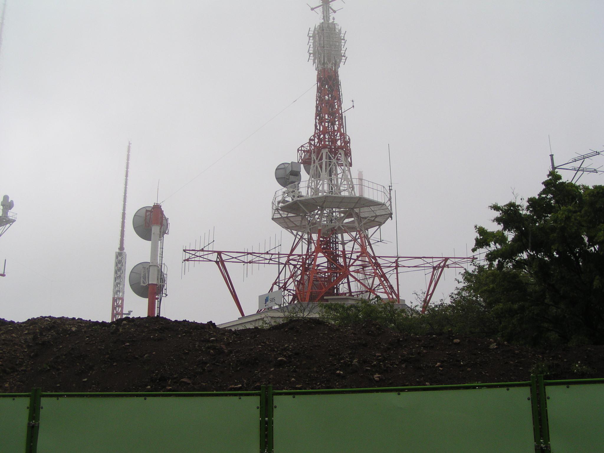SBS 静岡放送 日本平送信所